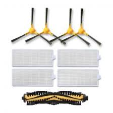 Tesvor X500 Accessories <b>Side Brushes</b>, <b>Roller Brushes</b>, Filter