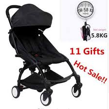 2019 New upgrade <b>baby yoya Stroller</b> Wagon Portable Folding baby ...