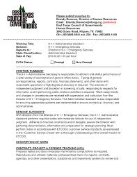 example of executive assistant resume samples of resumes example administrative assistant resume administrative assistant 0o