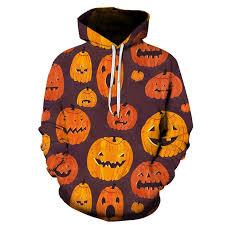 Men's Sweater <b>Halloween Pumpkin Digital Print</b> Sweater ...