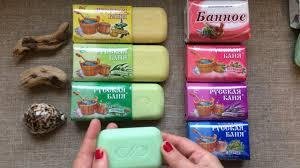 Обзор <b>мыла Русская баня</b> серия разноцветных кусочков <b>мыла</b> от ...