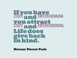 Norman Vincent Peale Quotes Enthusiasm. QuotesGram