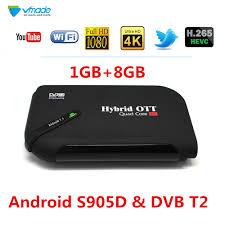 <b>2019</b> Android 7.1 TV Box & <b>DVB T2</b> Terrestrial TV Receiver 1GB ...