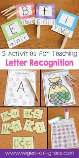 top ideas about letter recognition teaching are you looking for some great activities for teaching letter recognition help your students master