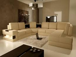 cream couch living room ideas: modern living room with cream sofa color home painting and
