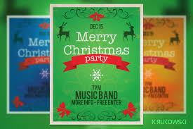 10 best christmas flyers premiumcoding vintage christmas flyer poster is adobe photoshop print template great to promote christmas party and other winter events