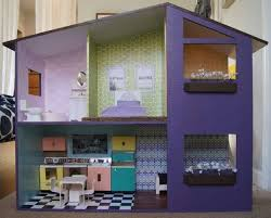 Mobili Per La Casa Delle Bambole : Casa delle bambole in cartone foto mamma pourfemme