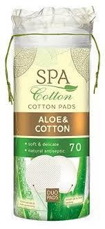 <b>Ватные диски SPA COTTON</b> Aloe, 70 шт — купить в интернет ...