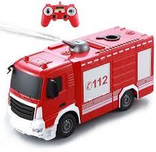 <b>Радиоуправляемая пожарная машина Double</b> E 1:26 2.4G - E572 ...