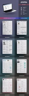 print ready creative resume templates from theresumecreator previews
