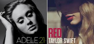"adele-taylor-swift-21-red-album-sales.jpg Adele's ""21"" has accomplished a rare feat -- it is the highest-selling album in the U.S. for the second straight ... - adele-taylor-swift-21-red-album-sales"