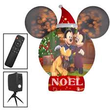 Gemmy 8.0053-ft <b>Mickey Mouse</b> Christmas Inflatable at Lowes.com