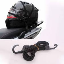<b>Mayitr 60cm</b> Black <b>Motorcycle</b> Luggage <b>Universal</b> Helmet Fixed ...