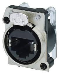 NE8FBH-C5-LED1 - <b>Neutrik</b> - Модульный <b>разъем</b>, <b>RJ45</b> Jack, 1 x 1 ...