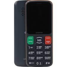 <b>Сотовый телефон Digma LINX</b> S240 Grey-Orange — купить, цена ...