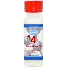#<b>4 Ferrum Phosphoricum 6x</b> – Grace's Nutrition