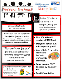 first friday children s events nepa mom blank flyer template