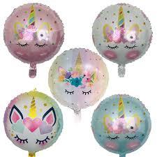 <b>1pcs</b> 70*45CM <b>Unicorn</b> balloons <b>Birthday Party</b> Decor <b>Kids</b> Rainbow ...
