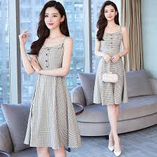 Summer Vintage Black Midi Dresses 2019 Elegant Women Club ...