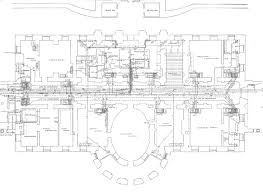 Ground Floor   White House MuseumThird floor plan of the White House after the remodeling   Report of the Architects   hi res version