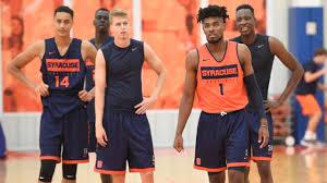 Syracuse reveals new men