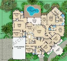 Floor plans  Floors and Luxury estate on Pinterest floorplan  twostory Mira Vista   European French Luxury Estate House Plan Mira Vista