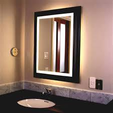 wood bathroom mirror digihome weathered:  fancy design lighted vanity makeup mirror light mirrors featuring bathroom canada lit sale