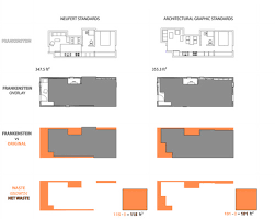 k house   TumblrWe combine the minimized spaces into one house and compare them to the original plans