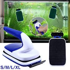 <b>Magnetic</b> Aquarium Fish Tank Algae <b>Glass Cleaner</b> Scraper Floating ...