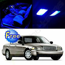 <b>13x Blue</b> Bulbs Interior LED for Ford Crown Victoria 1998-2010 ...