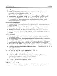 professional resume picture of  seangarrette coconstruction manager resume pg job resume sample format