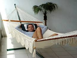 Playa Large Bar <b>Hammock</b> - <b>Hamaca with</b> Crochet Borders ...