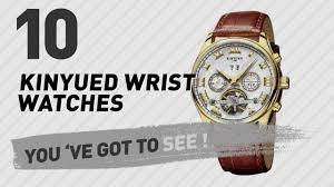 <b>Kinyued</b> Wrist Watches For <b>Men</b> // New & Popular 2017 - YouTube