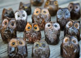 A step-by-step demo on how to <b>make</b> little <b>ceramic owls</b> on Red and ...