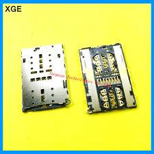 <b>2pcs</b>/<b>lot</b> XGE New SIM Card Socket Slot Reader Holder replacement ...