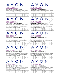 avon skin so soft coupon card avon by becca youravon com avon skin so soft coupon card