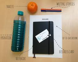 five tips to explore careers at cid items you want to bring to cid labels snacks writing utensils