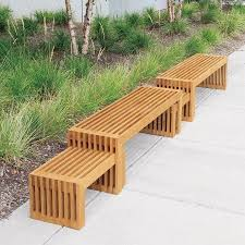 patio table and 6 chairs: strata  ft benches and interlocked side tables x outdoor furniture pinterest chairs bar and side tables