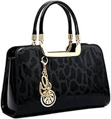 Patent Leather - Handbags & Wallets / Women ... - Amazon.com