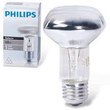 <b>Лампа накаливания PHILIPS</b> Spot R63 E27 30D, 60 Вт ...