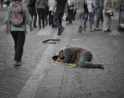 short essay for kids on a street beggar