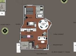 Residential Project   Compact housing in an Urban Landscape   A    House Floor Plan