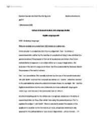 an textual analysis of  texts   university linguistics  classics    page