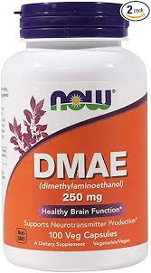 NOW Dmae 250mg , 100 Capsules(Pack of 2): Health ... - Amazon.com