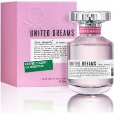 Benetton <b>United</b> Dreams Love Yourself, купить духи, отзывы и ...