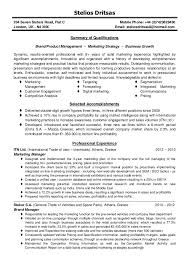 resume of marketing manager template sample online marketing manager resume