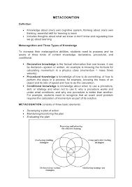 metacognitive essay examplemetacognitive essay example metacognitive essay essays going into …