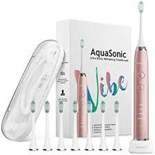 AquaSonic VIBE Series Ultra Whitening Pink Electric ... - Amazon.com