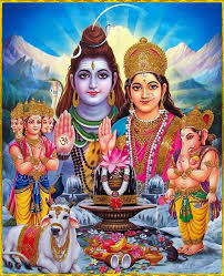 God Shiva Family Parvati Ganesha Murgan Pics for free download