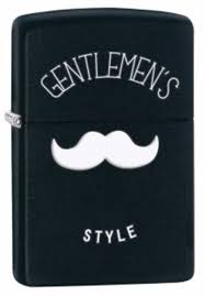 <b>Зажигалка ZIPPO Gentleman's Style</b>, латунь с покрытием Black ...